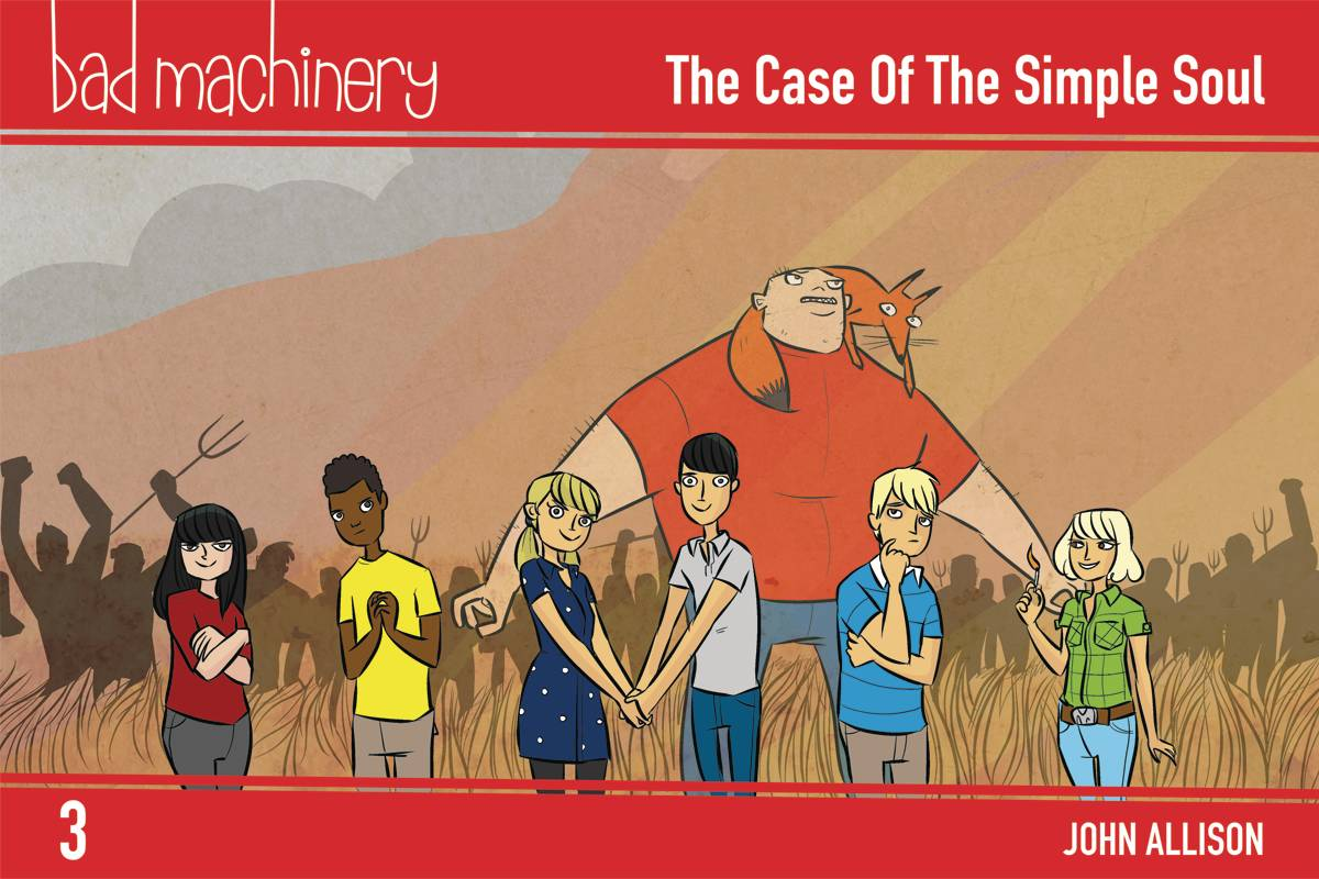 Bad Machinery GN Vol 3 Pocket Edition