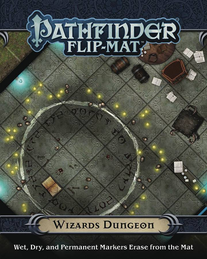 Pathfinder Flip Mat Wizards Dungeon