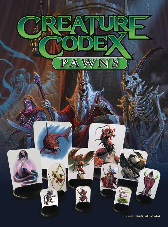 Creature Codex Pawns