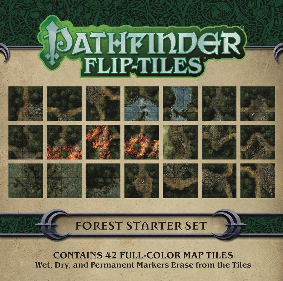 Pathfinder Flip Tiles Forest Starter Set