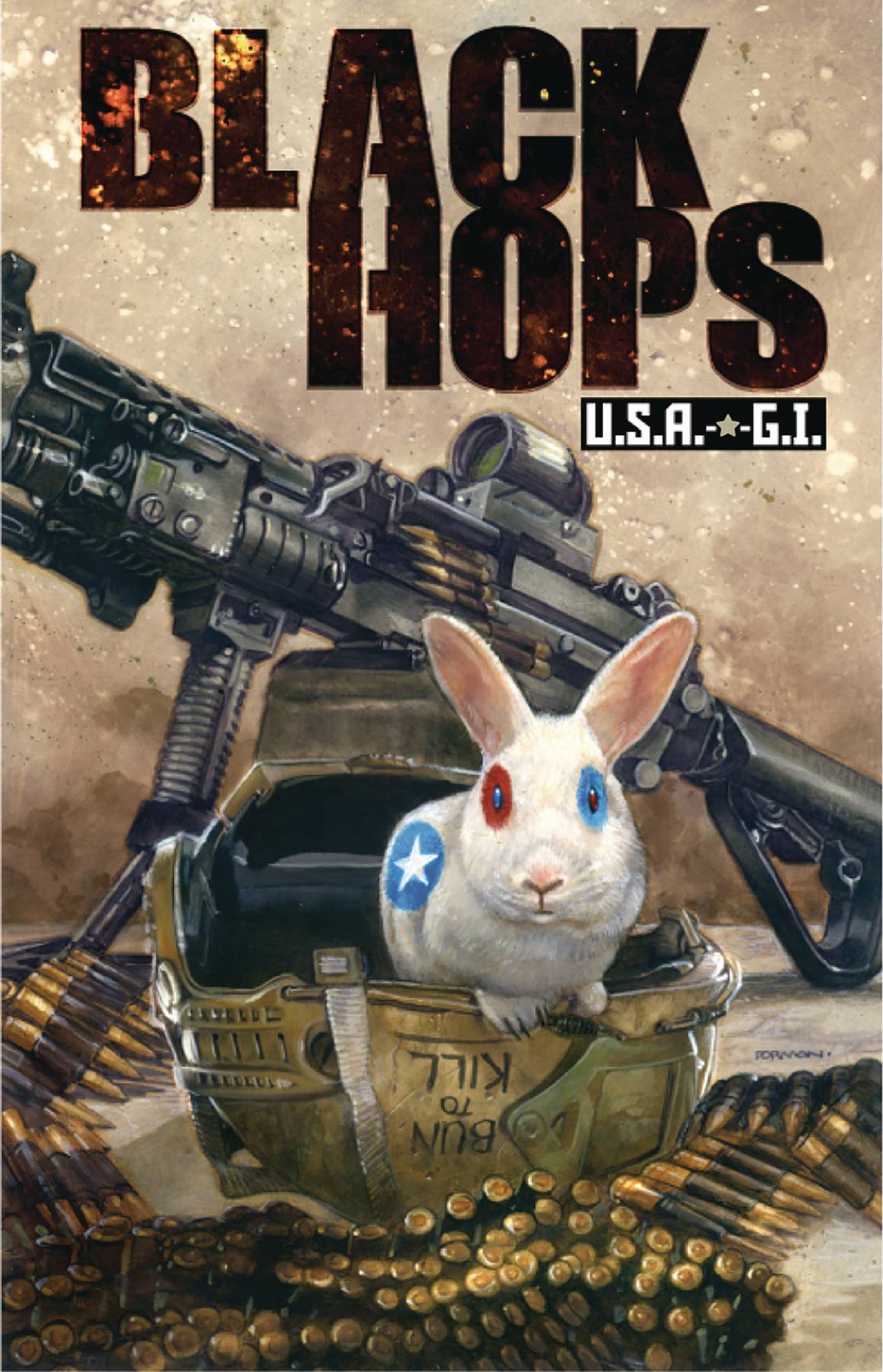 Black Hops Usa Gi