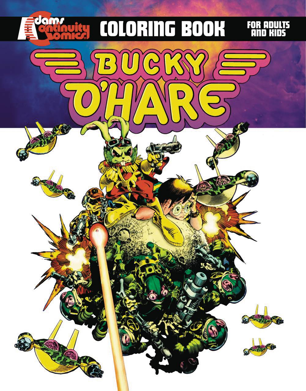 Bucky O Hare Graphic Novel Coloring Book