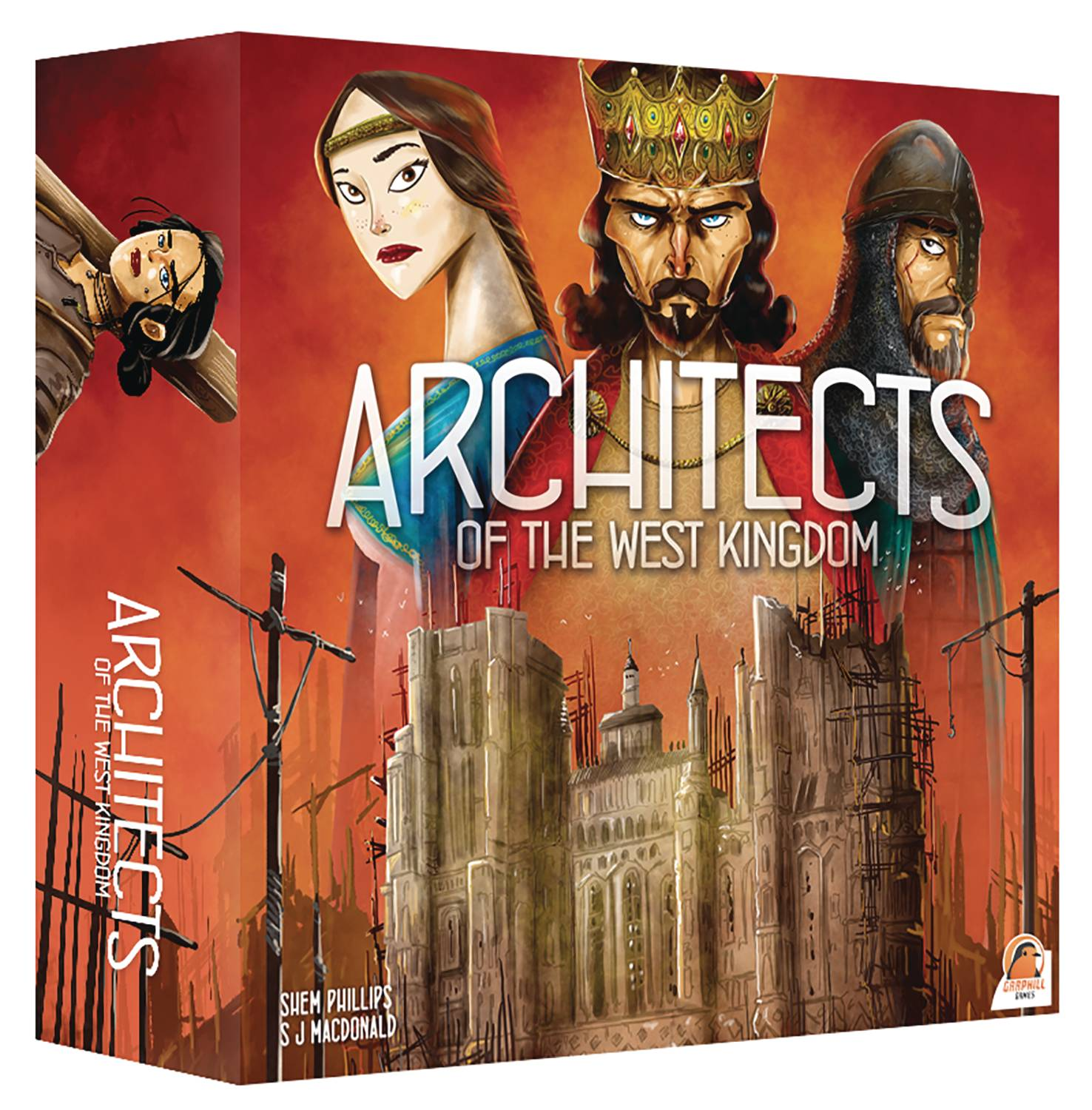 Architects of The West Kingdoms Card Game