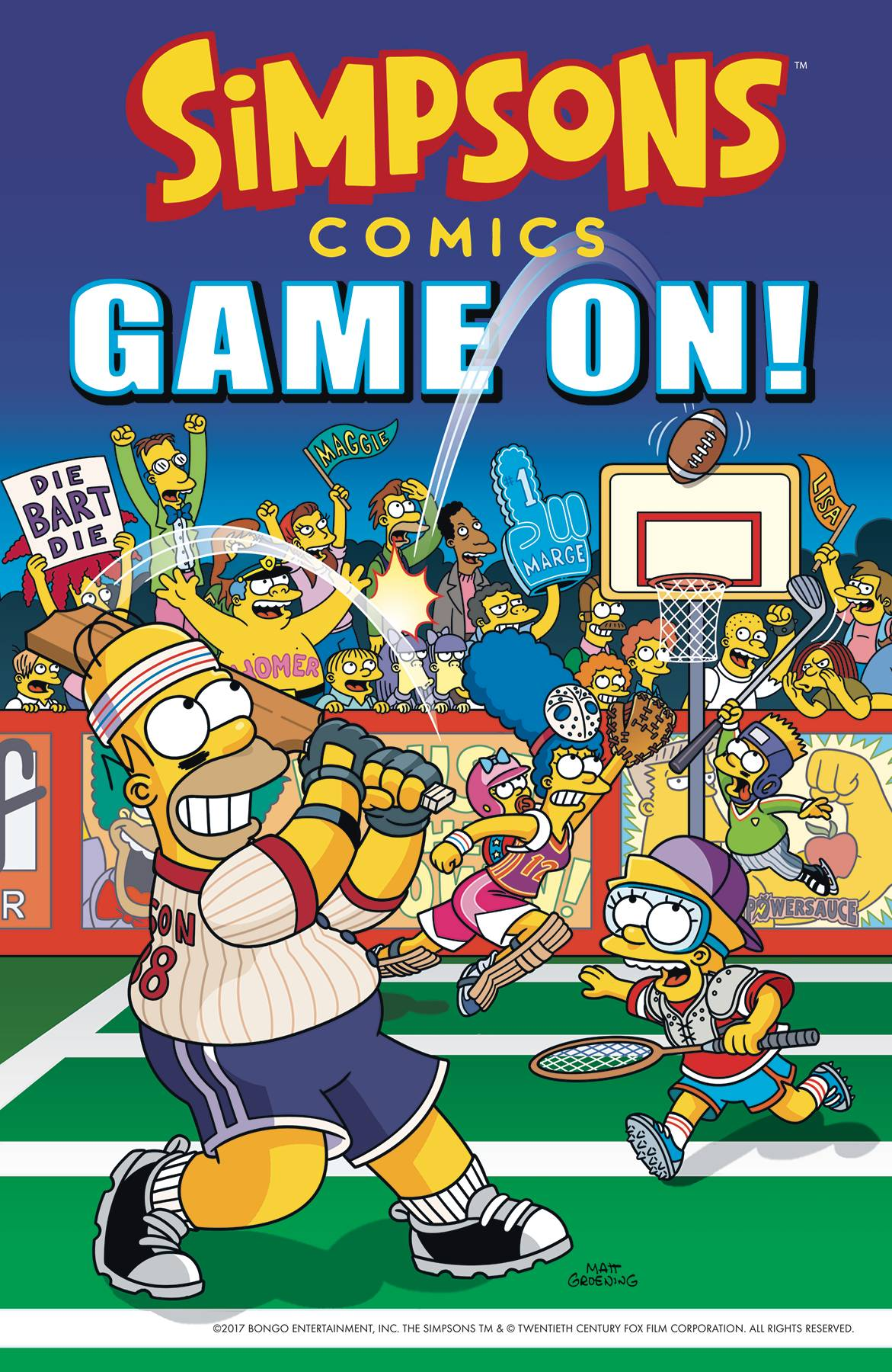 Simpsons Comics Game On GN