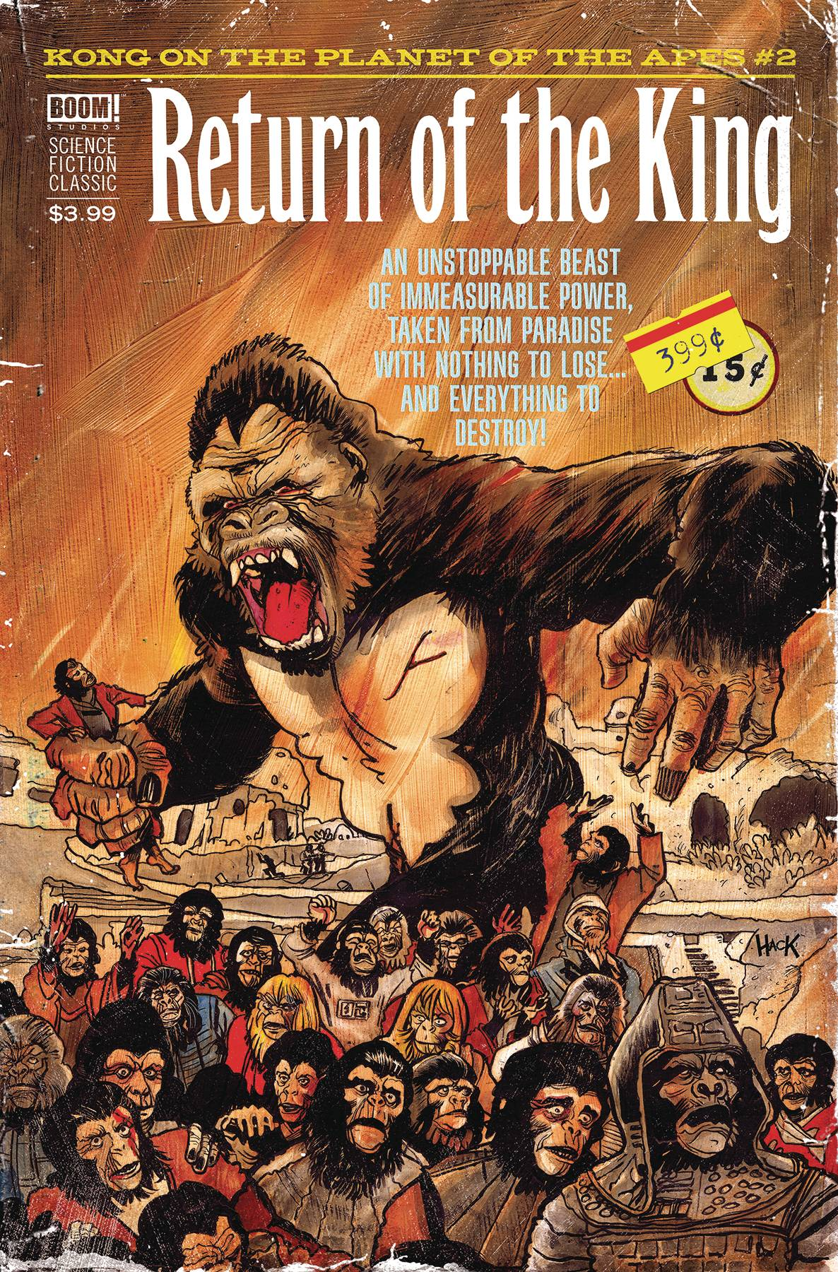 Kong On Planet of Apes