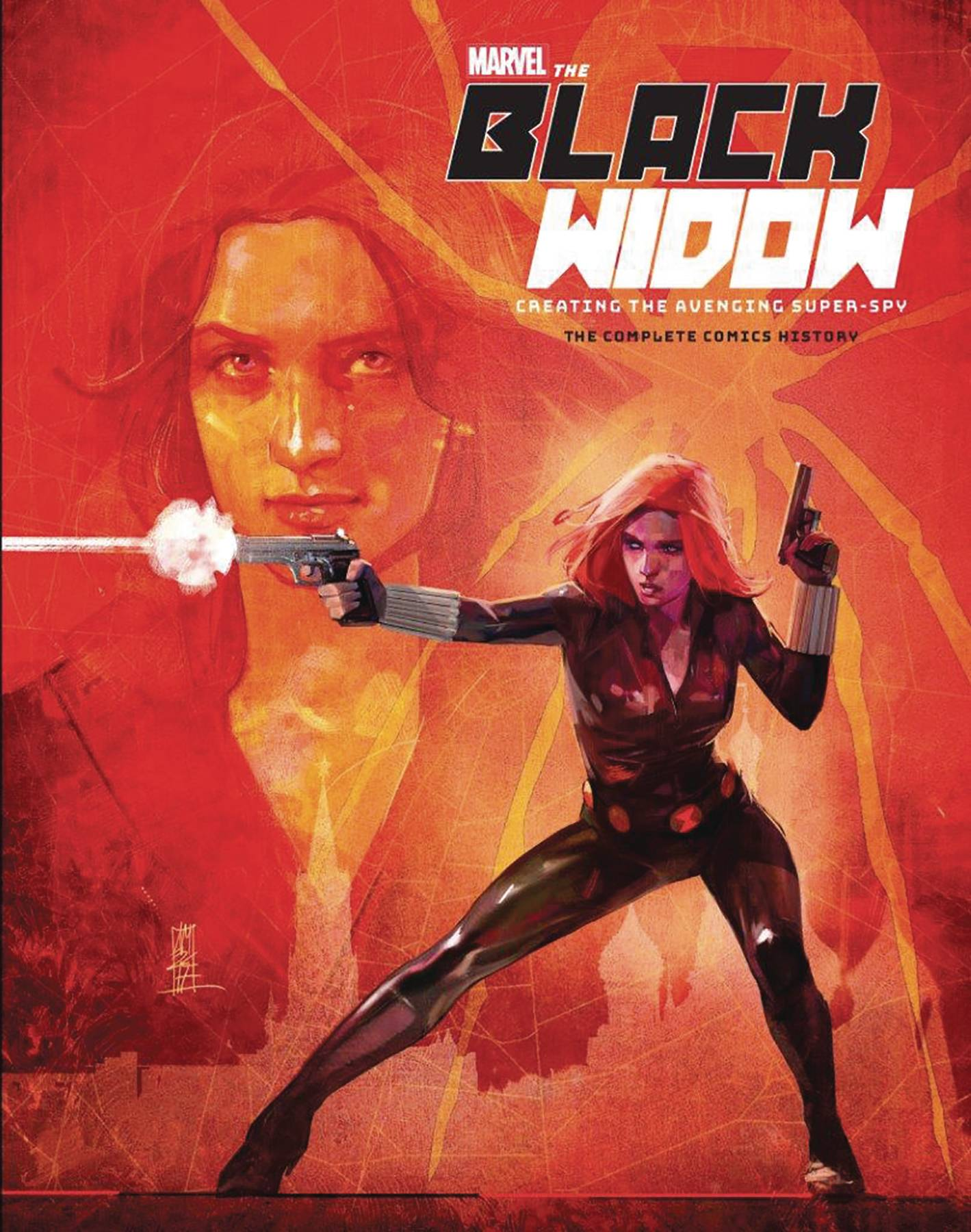 Marvel Black Widow Creating The Avenging Super-Spy HC