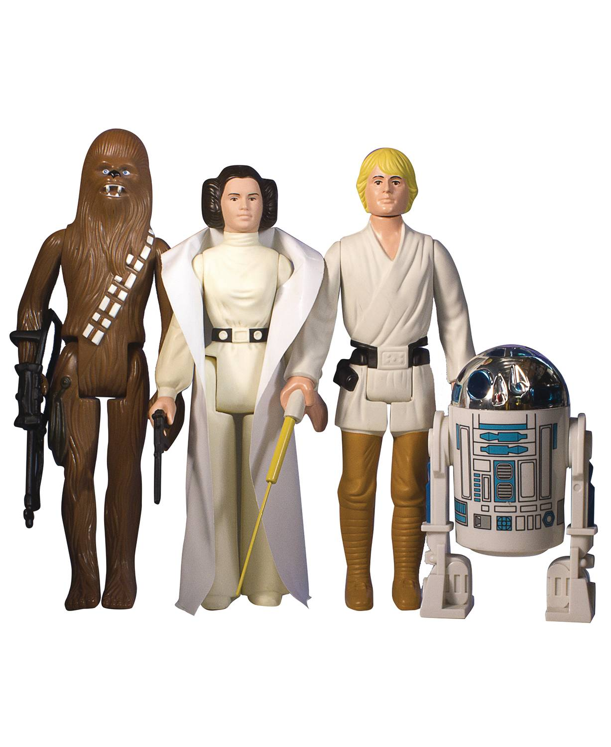 Sw Kenner-Inspired Early Bird Jumbo Action Figure 4 Pc Set
