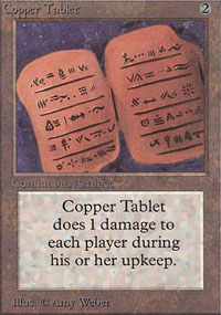 Copper Tablet