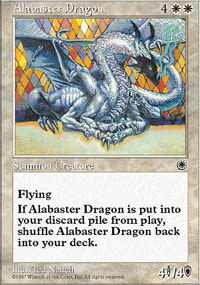 Alabaster Dragon
