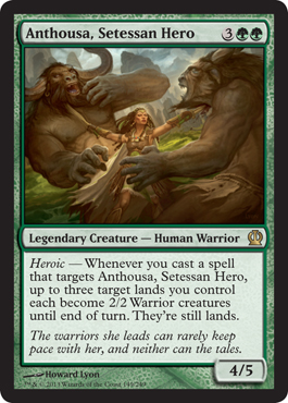 Anthousa, Setessan Hero
