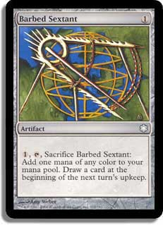 Barbed Sextant
