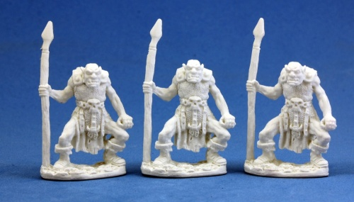 Bones - Orc Spearmen (3 per pack)