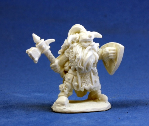 Bones - Dwarf Warrior