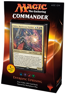 Entropic Uprising Commander 2016 Deck