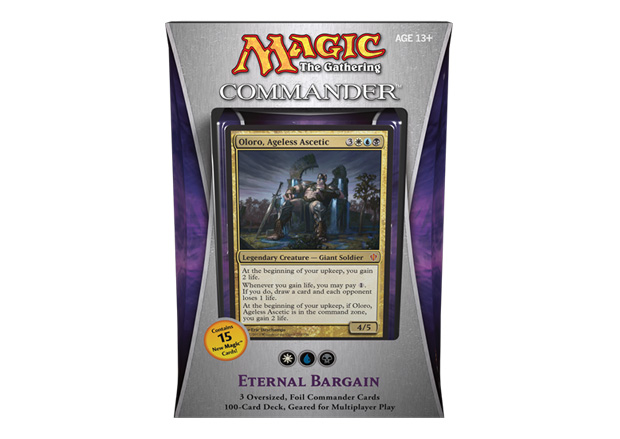 Eternal Bargain Commander 2013 Deck