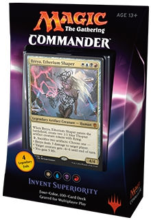 Invent Superiority Commander 2016 Deck