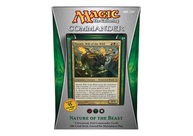 Nature of the Beast Commander 2013 Deck