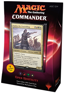 Open Hostility Commander 2016 Deck