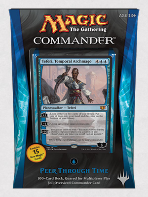 Peer Through Time Commander 2014 Deck