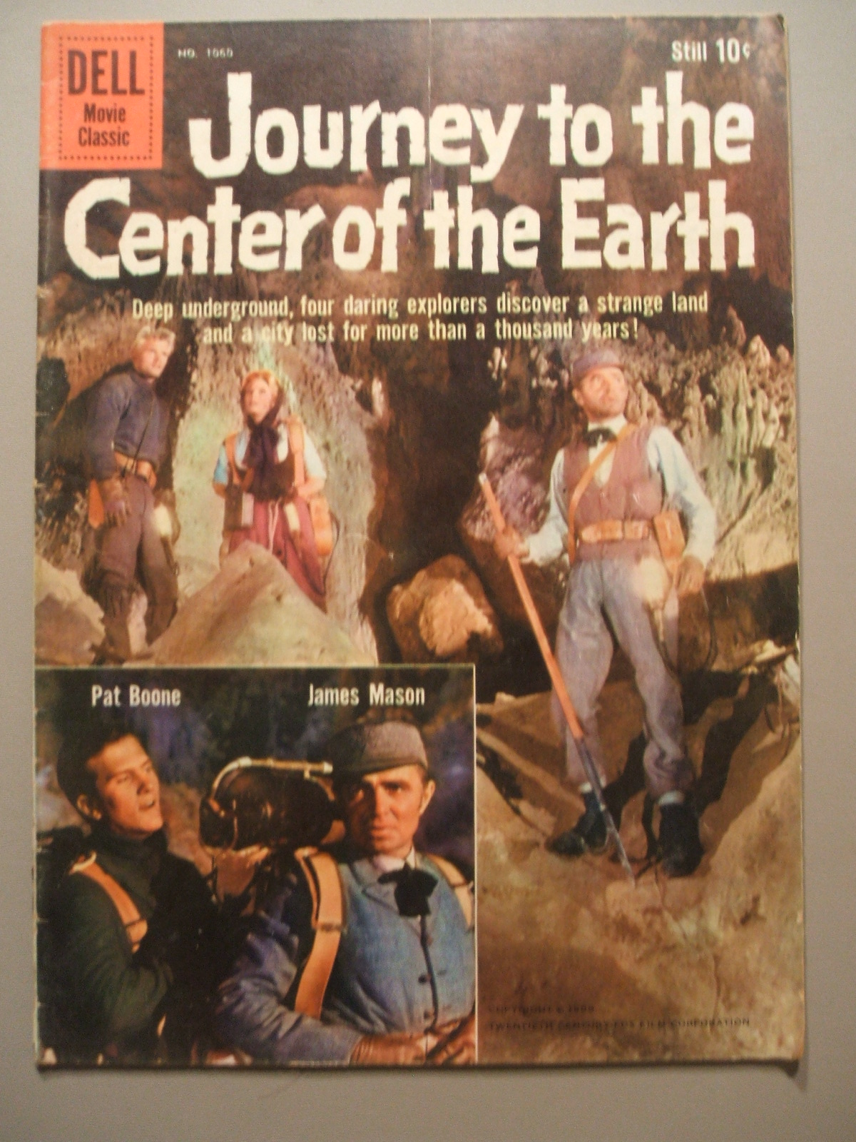 Journey to the Center of the Earth (Four-Color)
