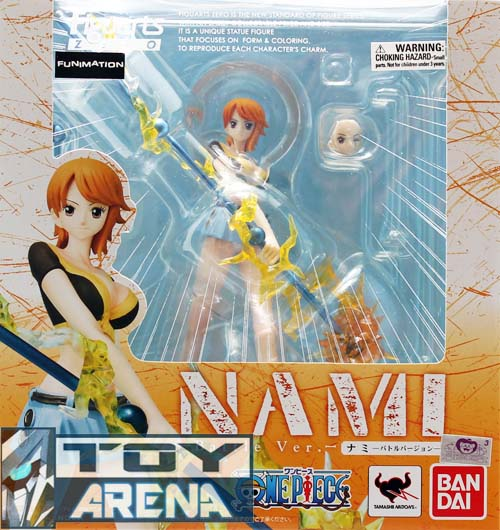 One Piece Nami Figuarts Zero Battle Ver