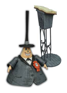 NBX Nightmare Before Christmas Select Series 2 The Mayor Action Figure