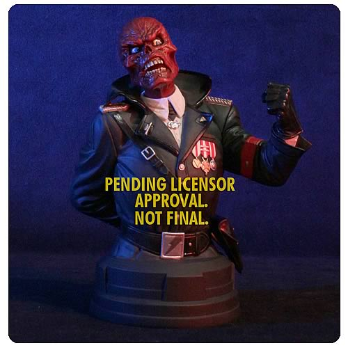 Avengers Red Skull Mini-Bust