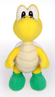 Super Mario Brothers 6 Inch Plush - Koopa Troopa