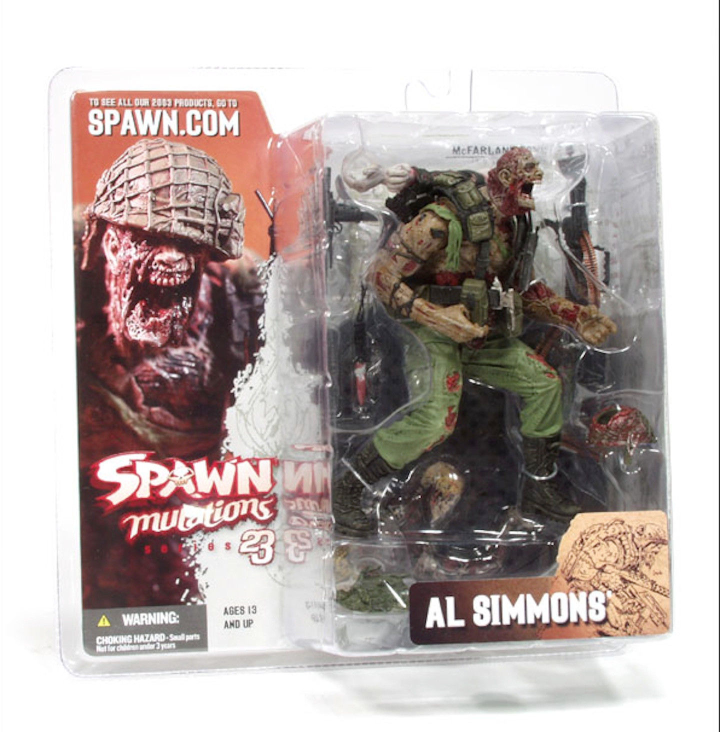 Al Simmons Spawn Mutations Series 23 Action Figure