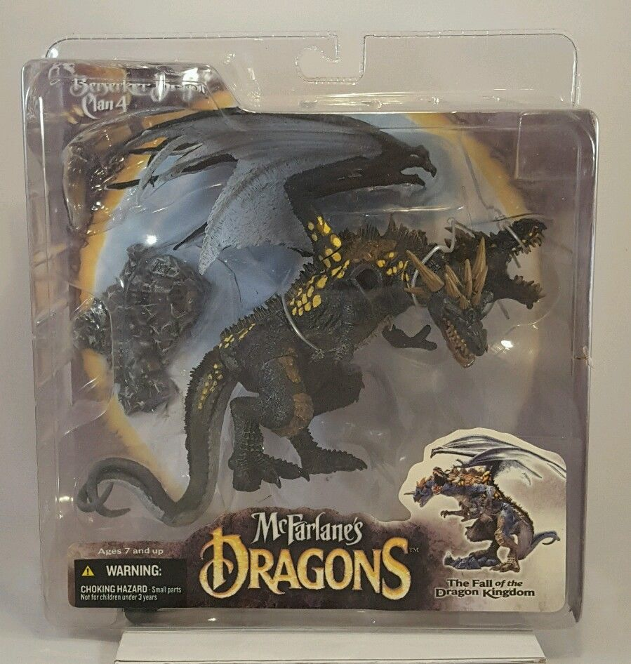 McFarlane Dragons Berserker Dragon Clan 4