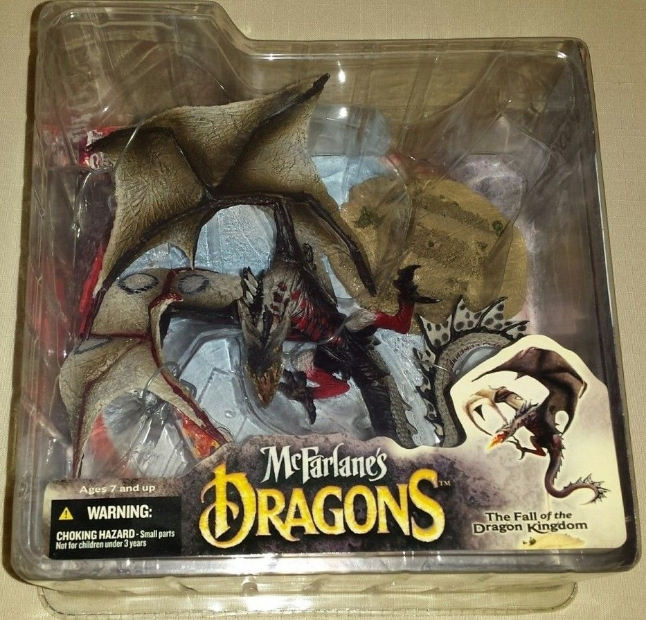 McFarlane Dragons Fire Dragon Clan 4