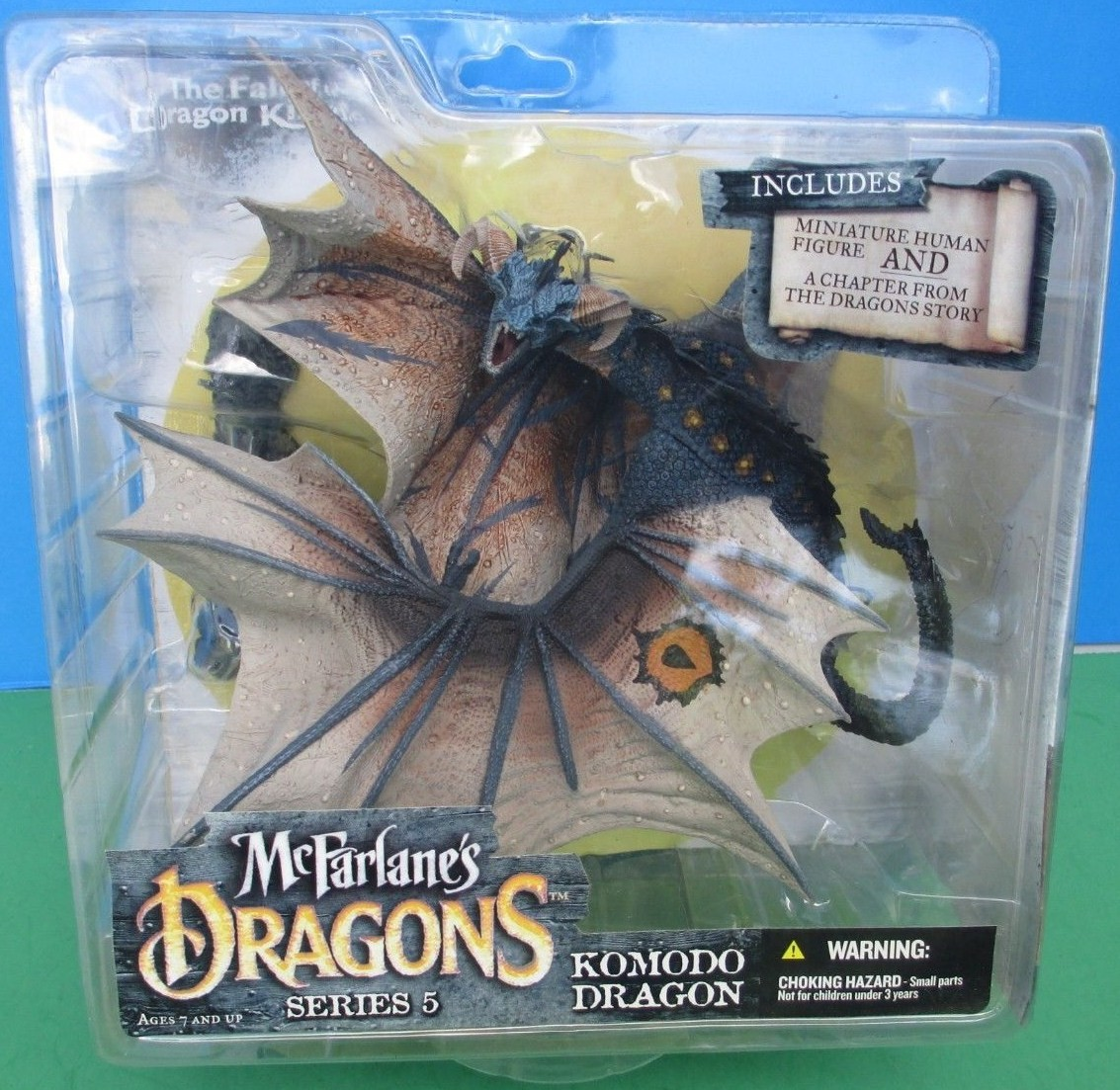 McFarlane Dragons Komodo Dragon Clan 5