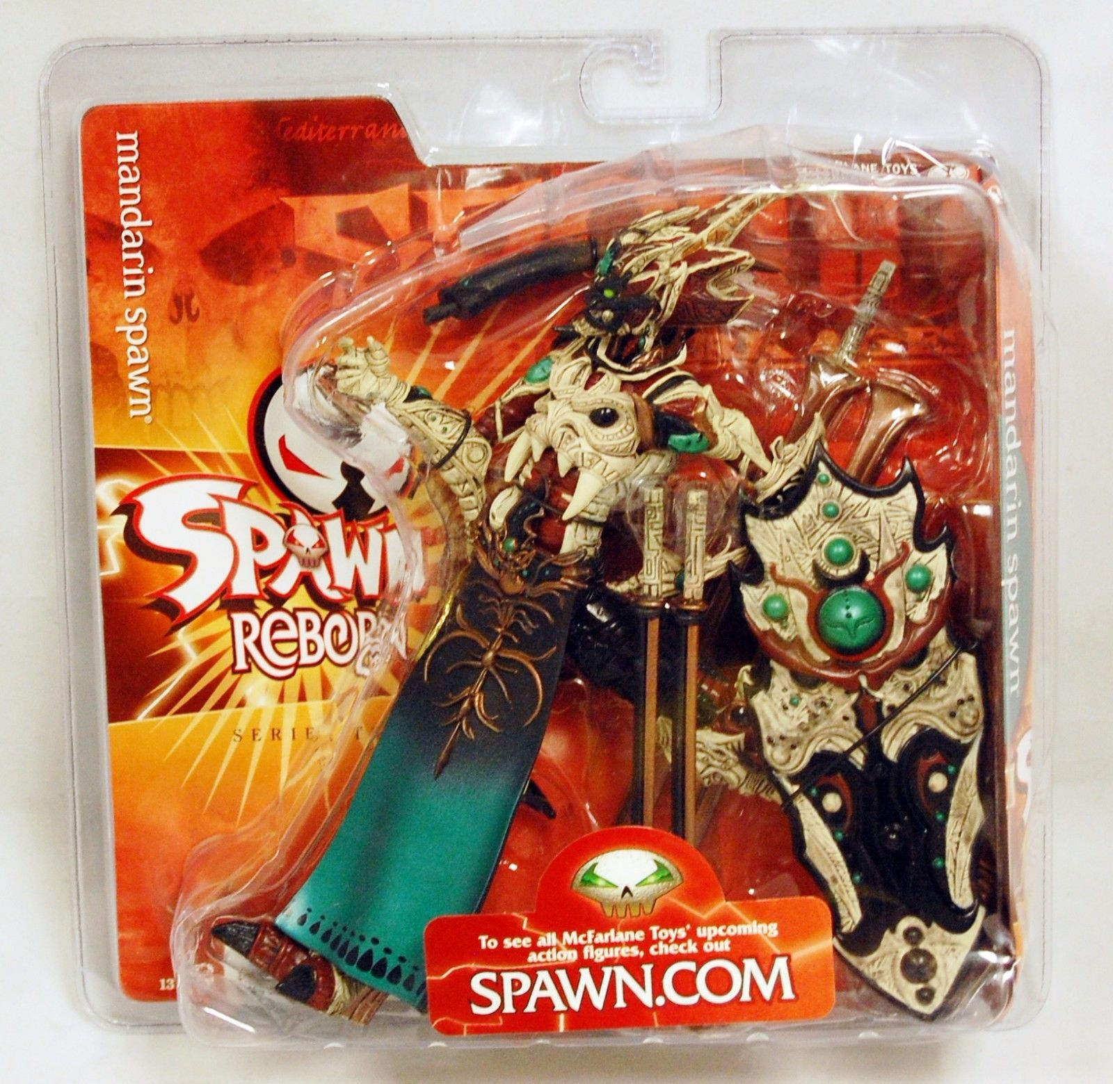 Mandarin Spawn Spawn Reborn Series 2 Action Figure