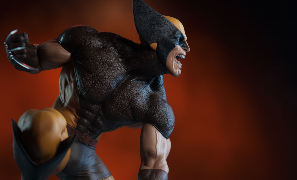 Wolverine - Brown Costume - Premium Format Figure