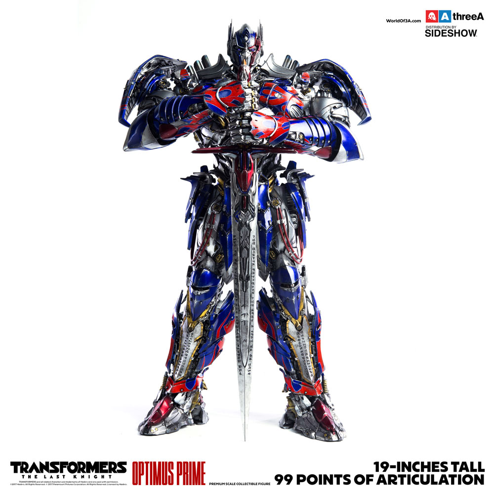 Optimus Prime Premium Scale Collectible Series - Transformers: The Last Knight - Collectible Figure
