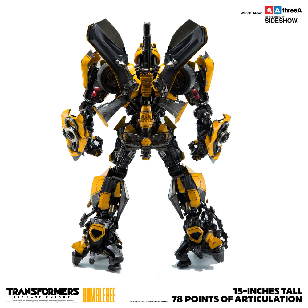 Bumblebee Premium Scale Collectible Series - Transformers: The Last Knight - Collectible Figure