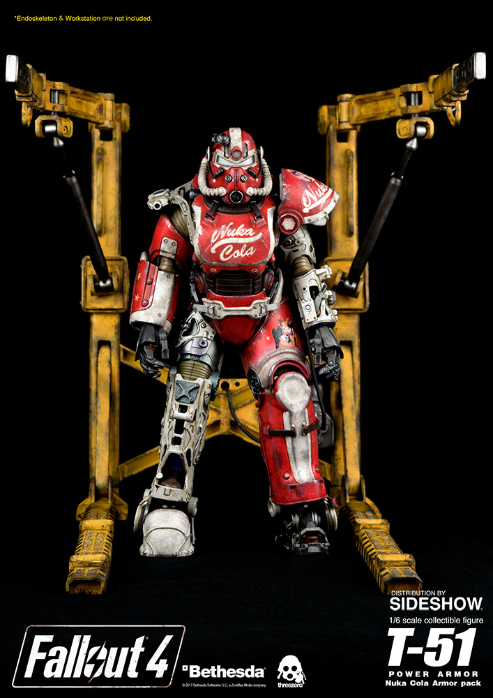 T-51 Power Armor - Nuka Cola Armor Pack Sixth Scale Figure