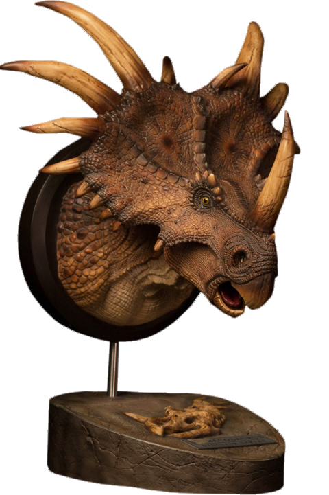 Styracosaurus (Brown) - Museum Collection Series - MUS004B - Bust