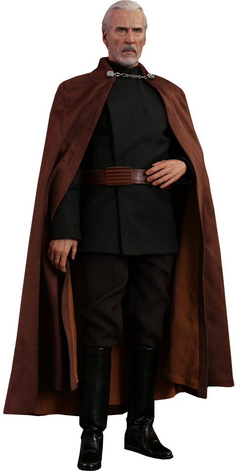 Count Dooku - Ep II: Attack of the Clones - Movie Masterpiece Sixth Scale Figure