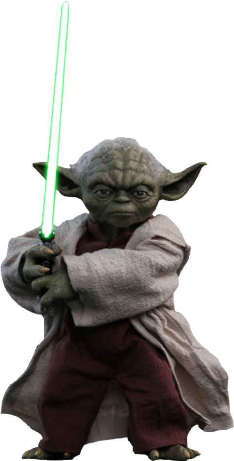Yoda - Ep II: Attack of the Clones - Movie Masterpiece Sixth Scale Figure