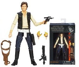 Han Solo - Star Wars Black Series 6-Inch Action Figures Wave 3
