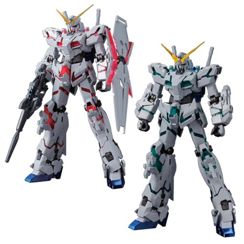 Gundam Unicorn RE:0096 Titanium Finish (Red/Green Frame Ver.) Master Grade Model Kit