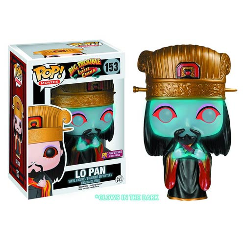 Big Trouble In Little China Ghost Lo Pan Glow in the Dark Pop! Figure