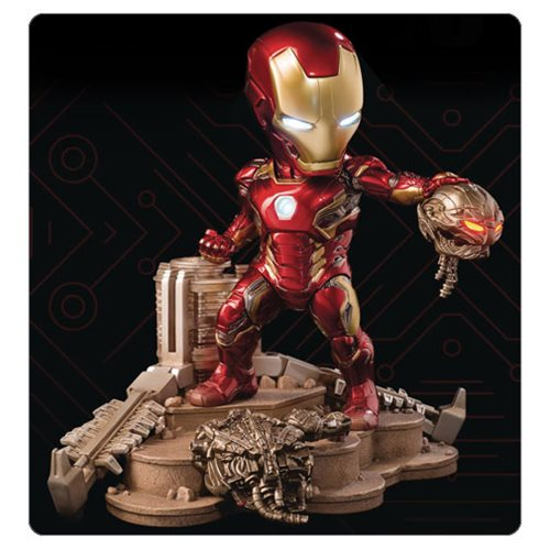 Avengers: Age of Ultron Iron Man Mark 45 Egg Attack Battle Statue - Previews Exclusive