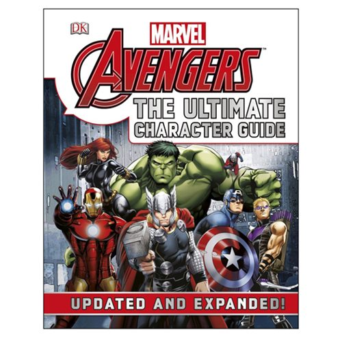 Marvel The Avengers: The Ultimate Character Guide Hardcover Book