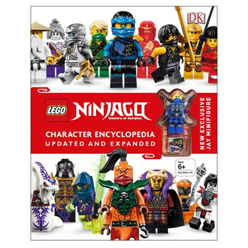 LEGO Ninjago Character Encyclopedia Updated Edition Hardcover Book