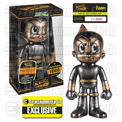 Astro Boy Metal Mix Hikari Sofubi Figure EE Exclusive