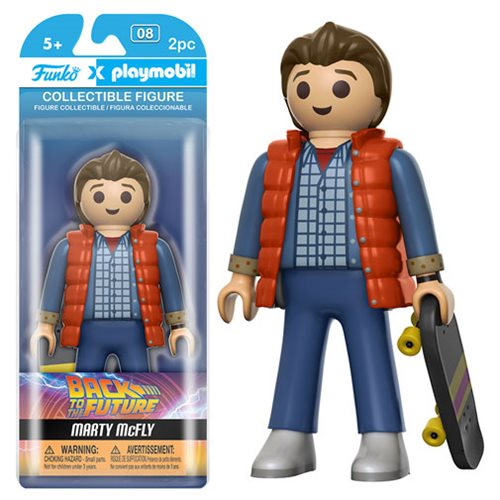 Back to the Future Marty McFly 6-Inch Playmobil Action Figure