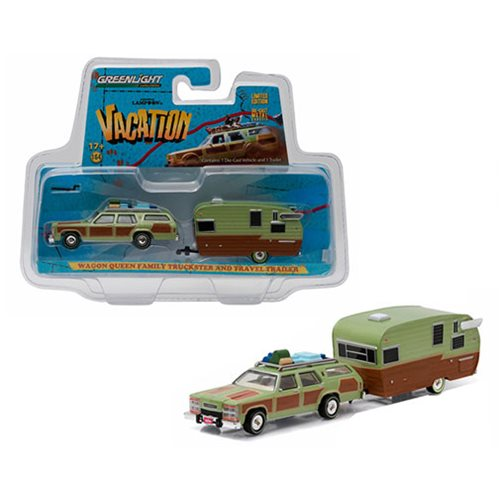 National Lampoon 1:64 Scale Vehicle Trailer Set