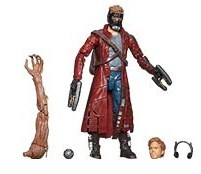 Guardians of the Galaxy Marvel Legends Star Lord Action Figure